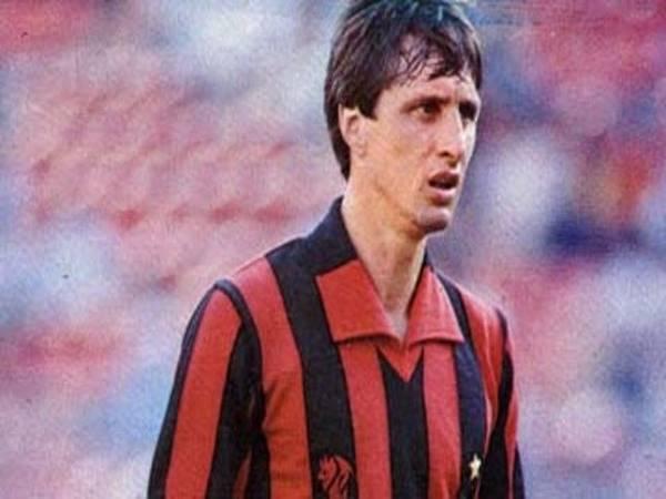 Johan Cruyff và 2 thất bại cay đắng trước AC Milan