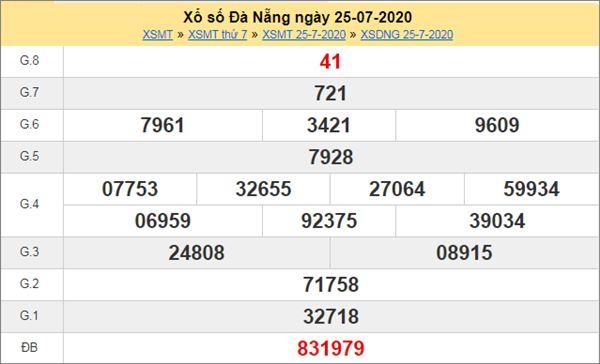 Dự đoán XSDNG 29/7/2020 chốt KQXS Đà Nẵng thứ 4