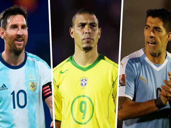 BĐQT trưa 15/10: Suarez vượt qua Messi và Ronaldo béo