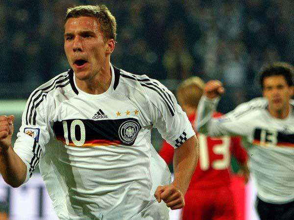 Tiểu sử Lukas Podolski : Cuộc đời và danh hiệu của Lukas Podolski