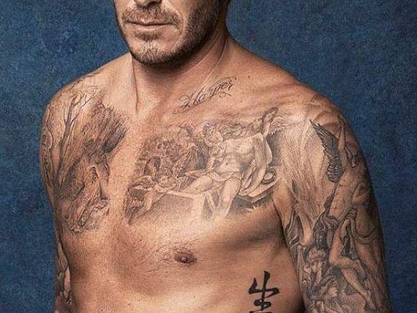 Hình xăm David Beckham trên cơ thể có ý nghĩa gì, có gì đặc biệt?